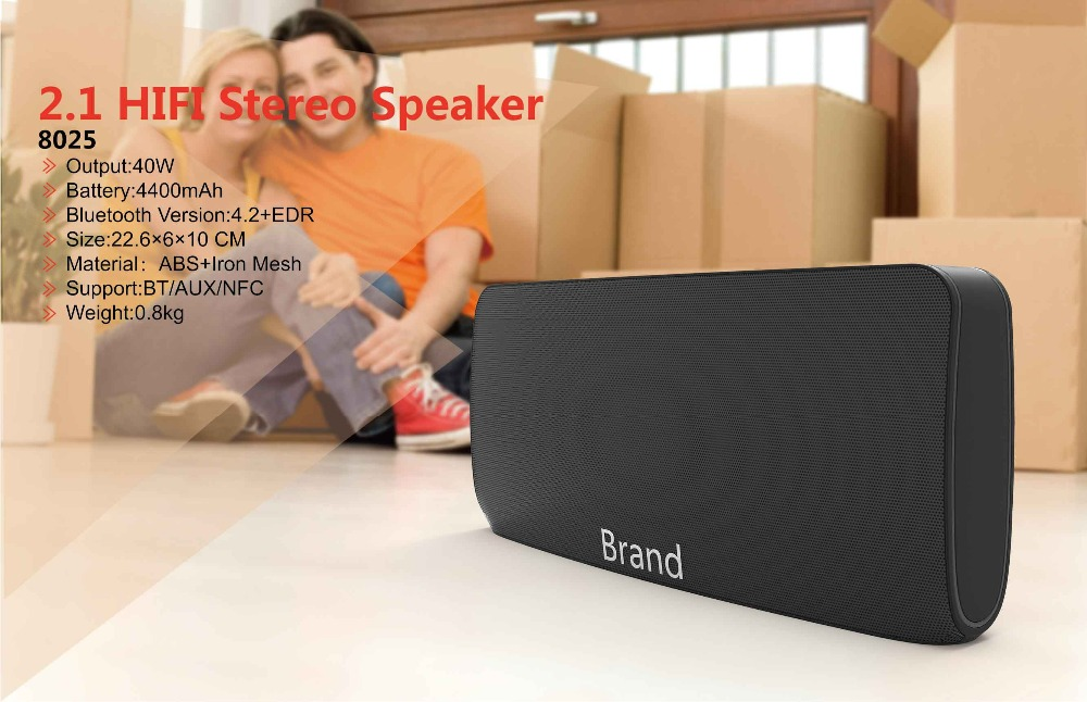 Newest electronic product for 2017 4400mAh 35W multimedia bluetooth speaker with power bank