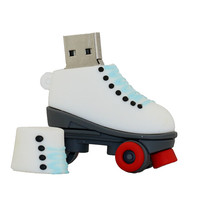 Wholesale custom made cute silicone house cartoon usb flash drive