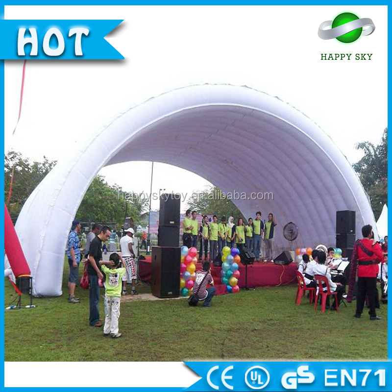 China custom outdoor wedding inflatable tent/ inflatable led cube tent/ inflatable party tent for sale