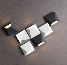 L4u METEOROLITE Free Mosaic Wall Sconce Install Vintage Decorative Indoor Wall Lamp LED