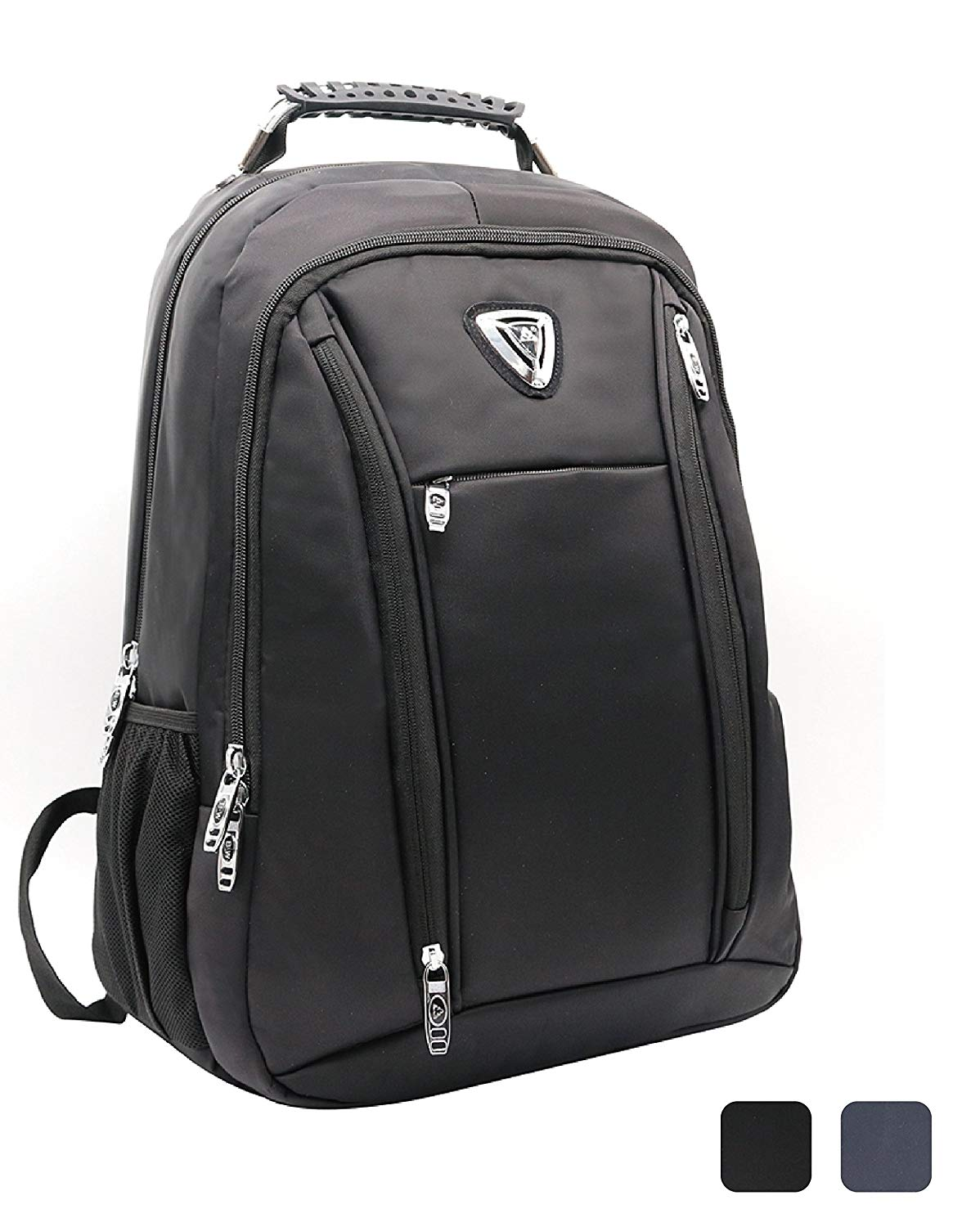 Laptop Backpack Business Backpack Travel Backpack Computer Bag with Lightweight & Water Resistant Multi Fuctional Daypack For Men & Women, Fit 15.6 Inch Notebook & Laptop. (Black)