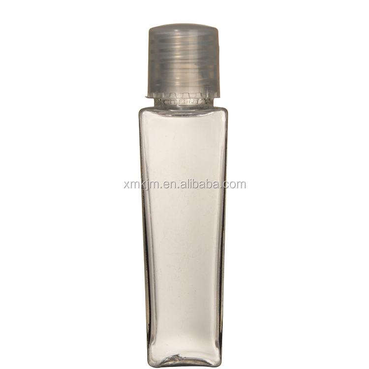 Top sale cosmetic clear 10 ml pet bottle for lotion