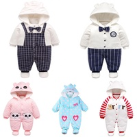 Wholesale Winter Baby Boy Clothes Baby Grows Toddler Clothes Rompers For Girl