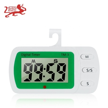 digital countdown kitchen timer Loud Alarm Clock Electronic Digital Time Large LED Display Touch Screen Kitchen