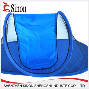 blue cheap wholksale pop up waterproof pet tents camping