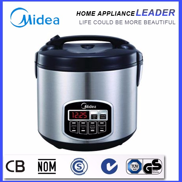 As seen on tv Midea Electric 5L Rice Cooker with Portable pressure cooker sealing ring