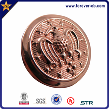 Die Struck Bronze Copper Plated Sew On Military Buttons
