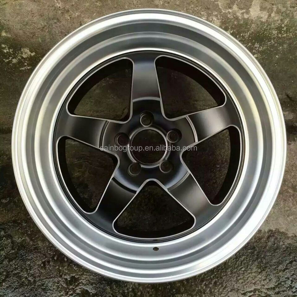 Silver/black/blue Car wheels alloy rims 15 16 17 18 19 20 inch 2434