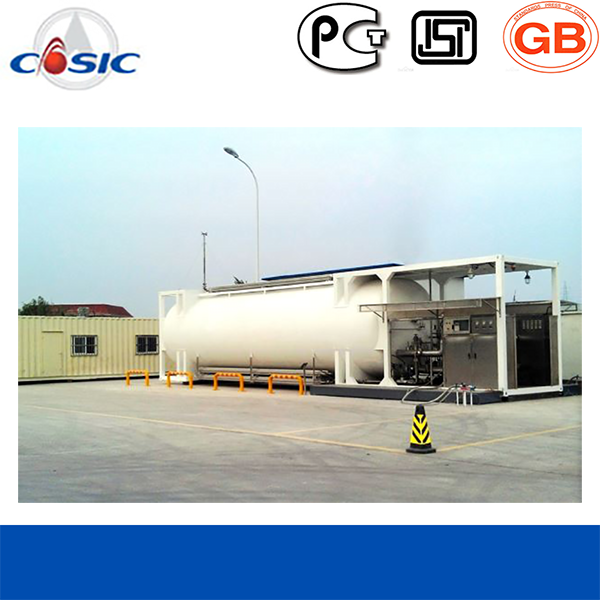 LNG Filling Station of Skid Mounted