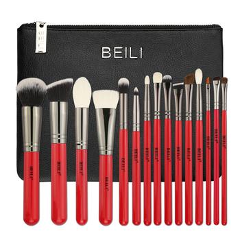 usa free shipping beili 15pcs makeup brushes natural hair