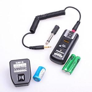 Yongnuo 2.4GHz Wireless Flash Trigger/Receiver and Shutter Remote for Canon 1D/5D/7D/10D/20D/30D/40D/50D DSLR