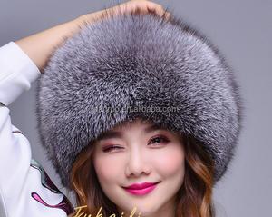 3df916827 Ladies Faux Fur Russian Hat Womens Black White Grey Warm Winter Hat