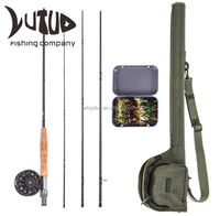 Fly Fishing Rod And Reel With Carry Bag Fishing Tackle Set Fishing Rods Combo
