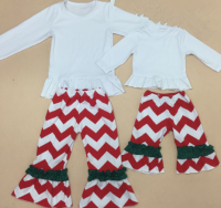 100% cotton christmas pajamas baby clothing boy children christmas clothing set