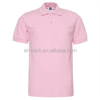 custom cotton men's blank Polo t shirt printing wholesale china red