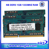 China market of electronic 1gb cheap ddr3 ram for laptop