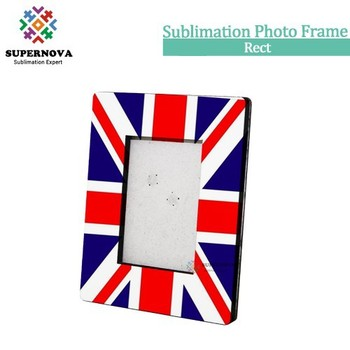 Sublimation Blanks Hardboard Picture Photo Frame, blank sublimation photo frame, customize photo frame