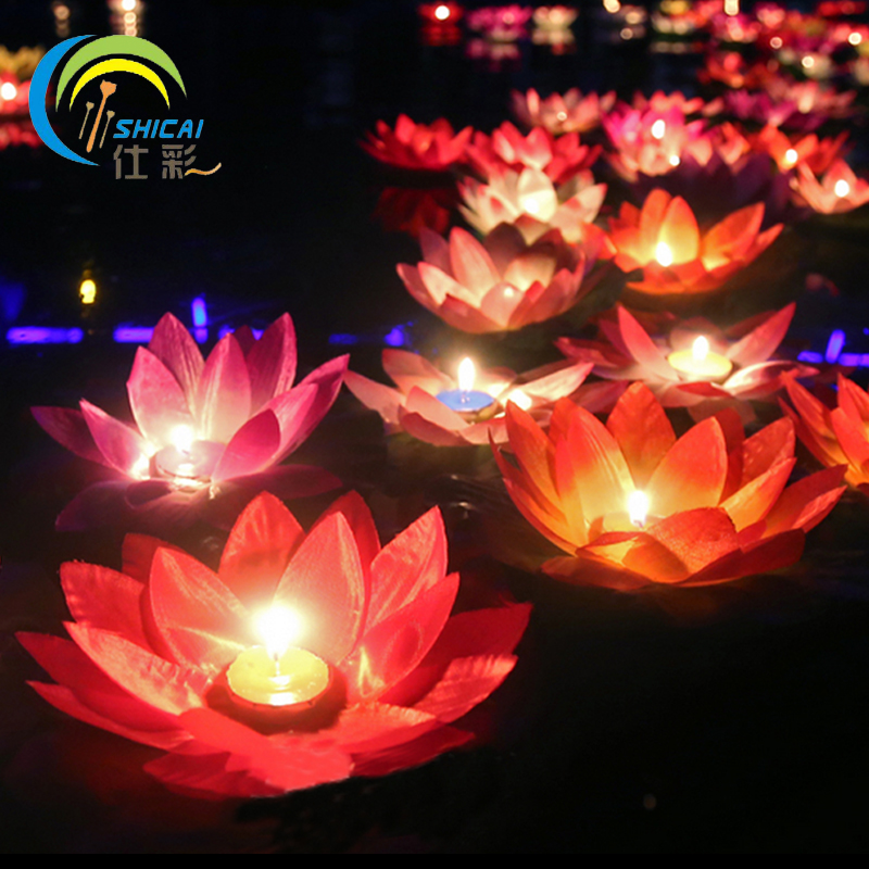 Romantic Valentine's Day Gift Lotus Wishing Lamp Votive ...