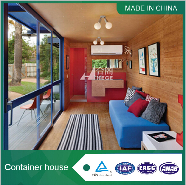 Living steel container home