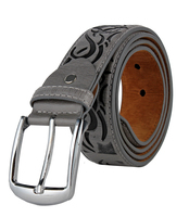 fashion manufacture and high quality man belt with pu and genuine leather