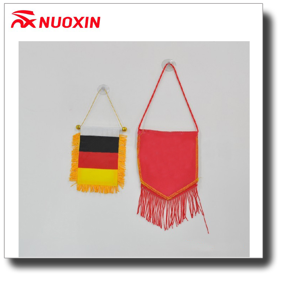 NX FLAG Custom hot country soccer gold pennant tassel flag