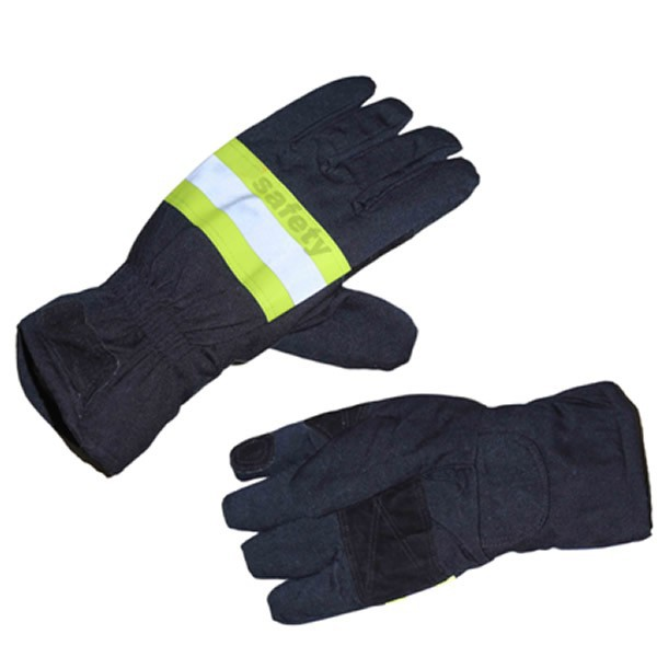 2015 New product Fire resistant fire fighter gloves fire gloves fireman gloves