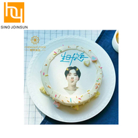 edible sugar sheet/icing sheet cake top decorating