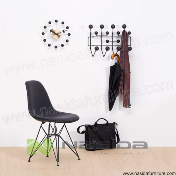 ND500 hot sales walnut solid wooden Hange It All The iron cloak frame of the kindergarten