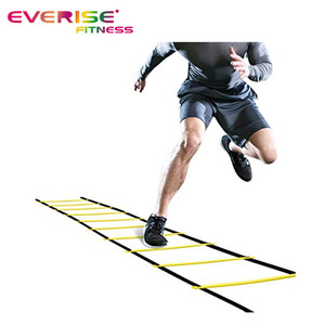 Football Fitness Adjustable Pp Fixed Rungs Sports Kit Agility Ladder Set