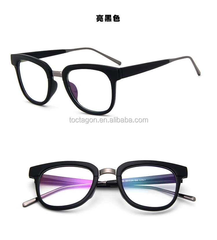 2017 Round Eye New Style Optical Frames,Plastic &metal Material ...