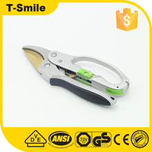Professional gardening tool Bypass Ratchet Pruning Shears