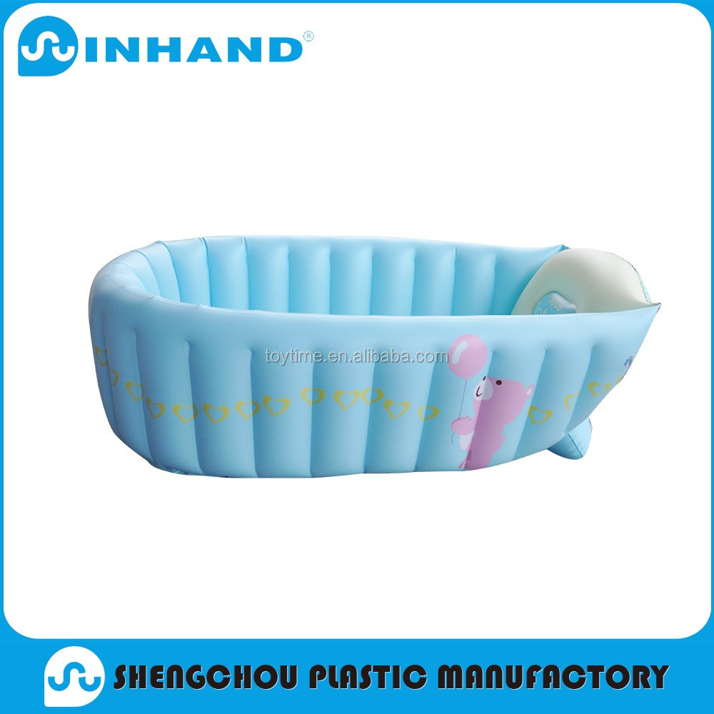 Factory Sale Durable Pvc Inflatable Floating Baby Bathtub/round ...