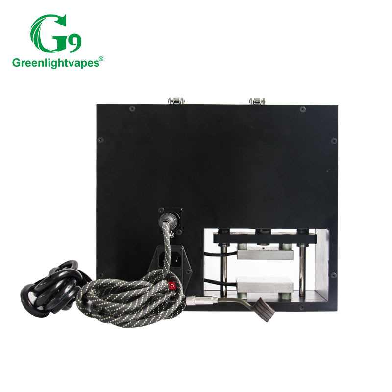 China manufacturer G9 mini rosin press 2-in-1 press and vape device to extract rosin easily horn smoking pipe
