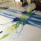 2 Part Self Leveling Clear Epoxy Resin Crystal Clear 3d Floor Sticker Epoxy Floor Paint for 3d Floor Art