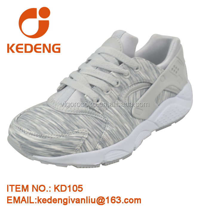 Hot sale men soft sole athletic flat sole running shoes
