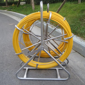 Fiberglass snake rod, Fish tape, Cable jockey/ Galvanized electrical cable reel stands/ Fiberglass Push Pull Rod