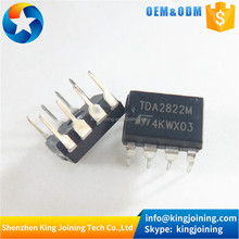 Amplifier IC 1-Channel (Mono) or 2-Channel (Stereo) Class AB 8-Mini DIP TDA2822M TDA2822