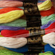 Good Quality JMG Brand Cotton Embroidery Thread Cheap thread 26s/2*6 Sold in bulk