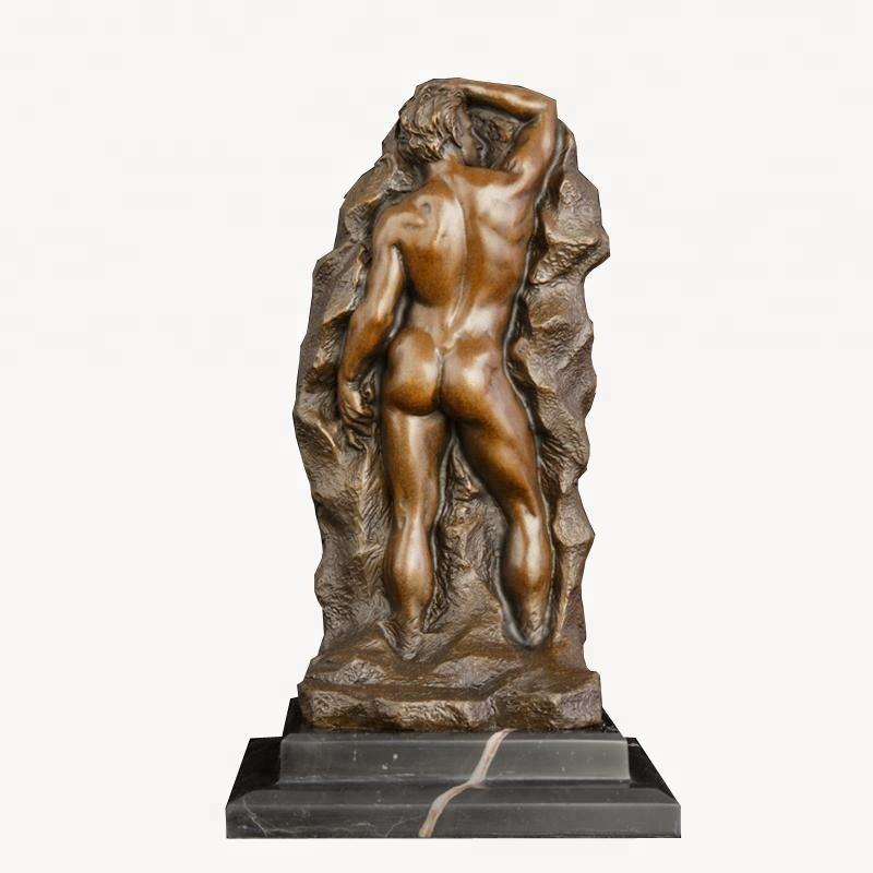 Escultura de bronze lésbica nua mulher e mulher estátua sensual decoração para casa trabalho de arte para venda