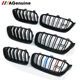 ABS 3 colors matt black glossy black M3 car front bumper grills radiator mesh grille for BMW 3 series F30