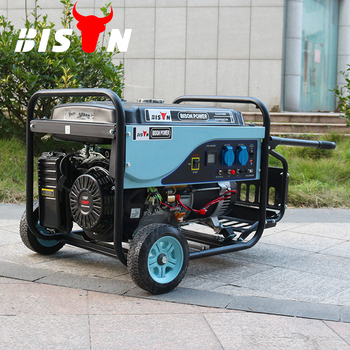 Bisonchina Electric Generators 5500 Watt Powered By Bs390 Engine