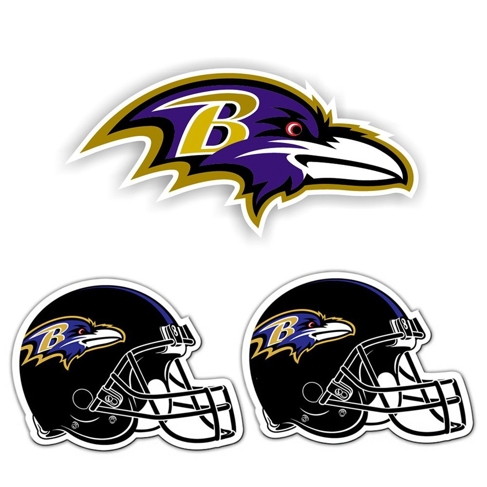 Fremont Die Baltimore Ravens Magnet 3-Pack Kit