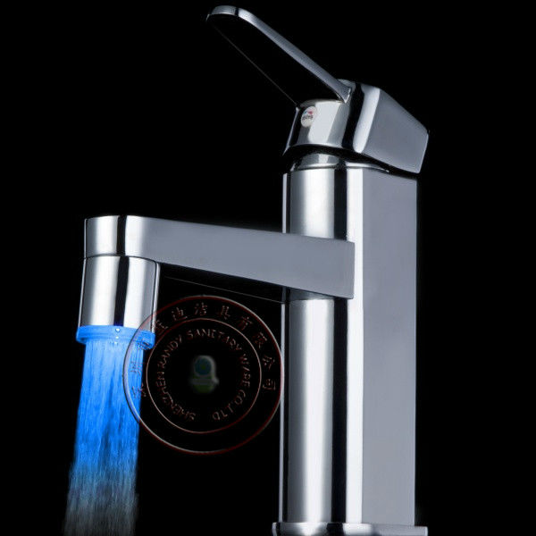 Luxury Led Shower Faucet Bateroom Faucet Temperature Control LED Water Faucet Aerator Light Fantastic Design for Sale LD8001-A9