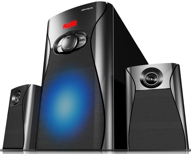 2.1 Subwoofer Speaker Home Theater with Breathing LED Lights