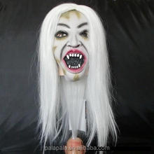 Horrible Creepy Toothy Ghost Mask Halloween Costume Prop Latex Rubber Halloween Mask Masquerade Masks