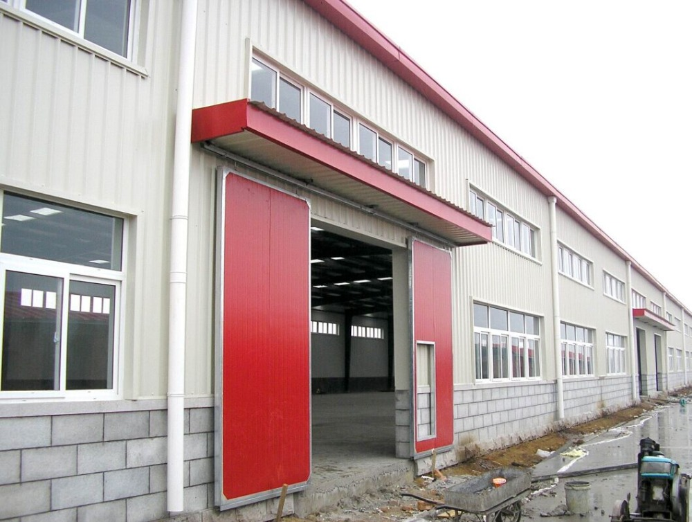 Waterproof steel structure building warehouse with CE certification
