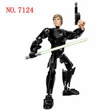 Совместимые с Star Rogue One Figures K-2SO Kylo Ren Captain Phasma Rey Poe Dameron Finn Darth игрушки с Вейдером строительные блоки(Китай)