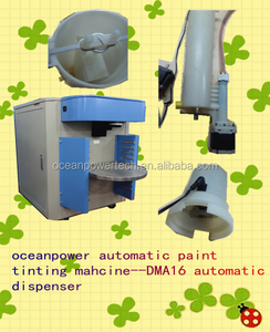 Automatic paint mixer / color mixing machine / auto paint manufacturing equipment with POM canister material