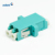 LC OM4 Multimode Universal Type Fiber Optic Adapter with flange for fiber telecommunication