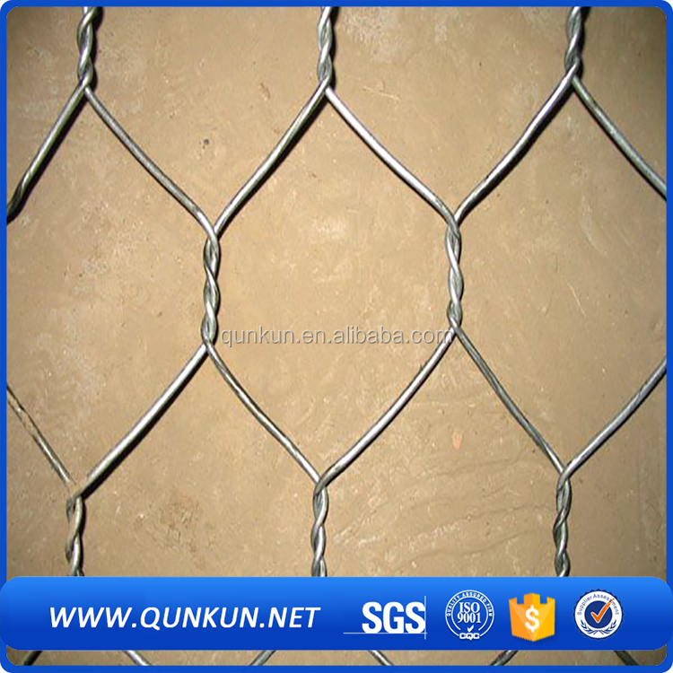 chicken wire mesh/ hexagonal wire mesh/ gabion cage